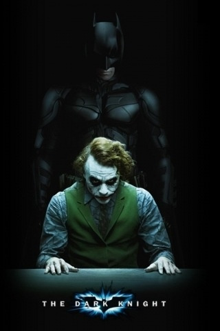 The Dark Knight iPhone Wallpaper