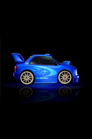 Mini Subaru WRX STI iPhone Wallpaper