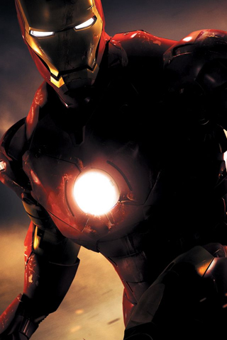 Ironman The Movie iPhone Wallpaper