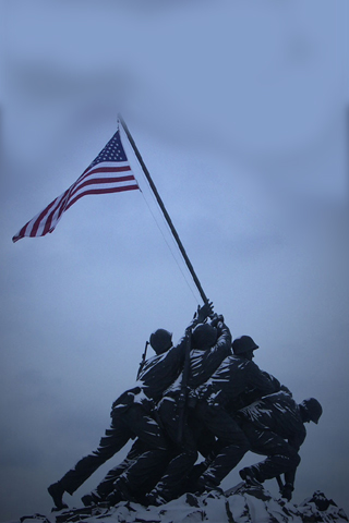 An American Monument iPhone Wallpaper