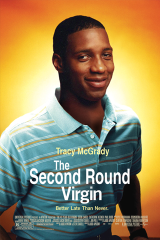 Tracy Mcgrady - The Second Round Virgin iPhone Wallpaper