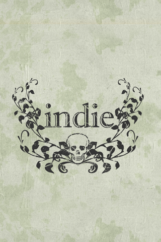 Indie Rock Logo iPhone Wallpaper