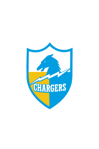 San Diego Chargers Badge iPhone Wallpaper