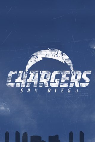 San Diego Chargers Logo iPhone Wallpaper
