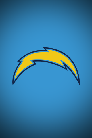 San Diego Chargers Blue Logo iPhone Wallpaper