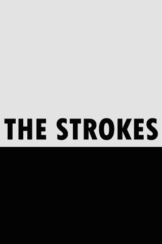 The Strokes Plain Logo iPhone Wallpaper