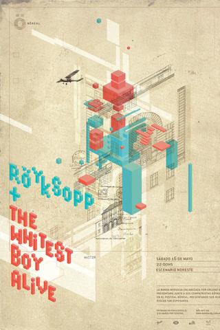 Royksopp + The Whitest Boy Alive iPhone Wallpaper