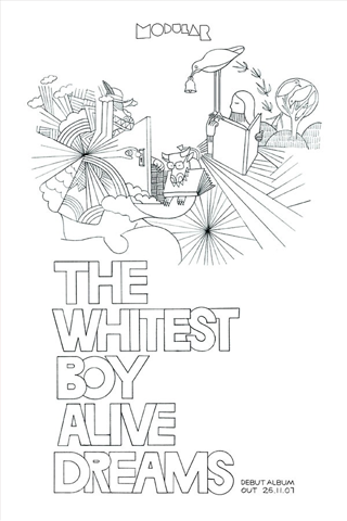 The Whitest Boy Alive - Dreams iPhone Wallpaper