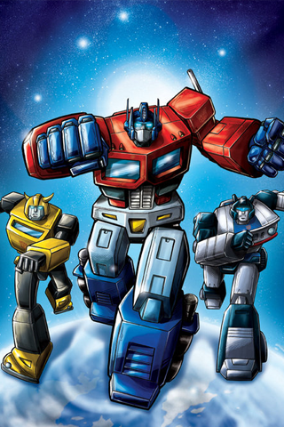 Transformers - Autobots iPhone Wallpaper