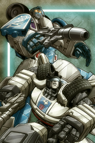 The Transformers iPhone Wallpaper