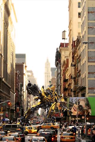 Transformers - Bumblebee iPhone Wallpaper