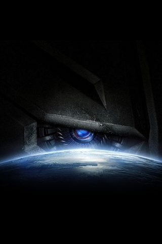 Transformers Promotional Poster iPhone Wallpaper