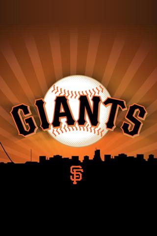 San Francisco Giants Logo iPhone Wallpaper