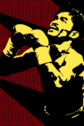 Manny Pacquiao - Manny Pacman Vector iPhone Wallpaper
