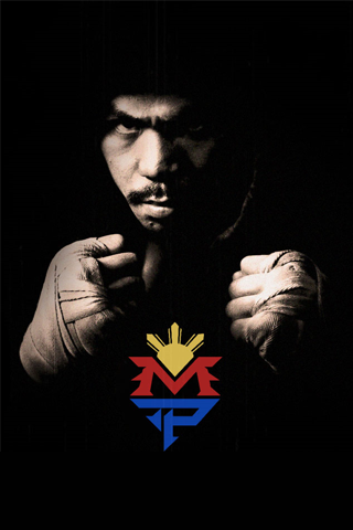 Manny Pacquiao - Manny Pacman iPhone Wallpaper