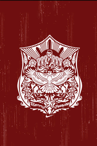 Manny Pacquiao - Manny Pacman Crest iPhone Wallpaper