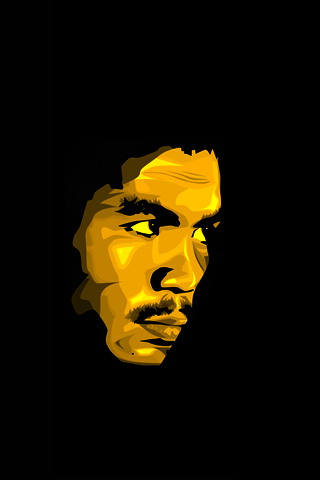 Manny Pacquiao Pacman Vector IPhone Wallpaper