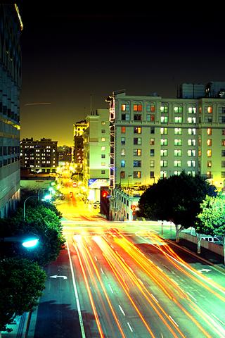 Los Angeles HDRI iPhone Wallpaper