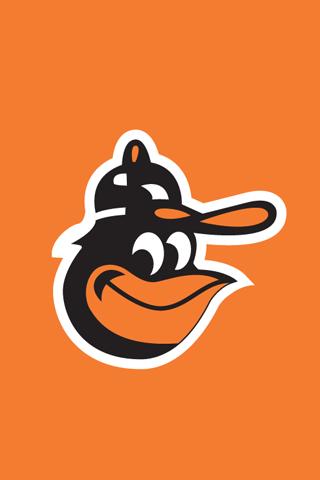 Baltimore Orioles Logo iPhone Wallpaper