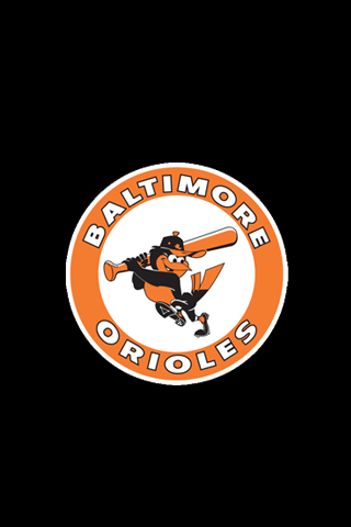 Baltimore Orioles Logo iPhone Wallpaper