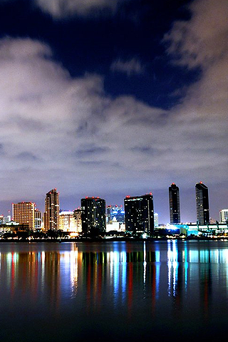 San Diego Skyline iPhone Wallpaper