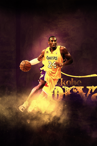 Los Angeles Lakers Kobe Bryant IPhone Wallpaper