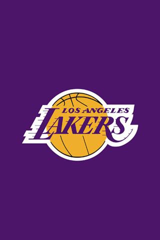 Los Angeles Lakers Purple Logo iPhone Wallpaper