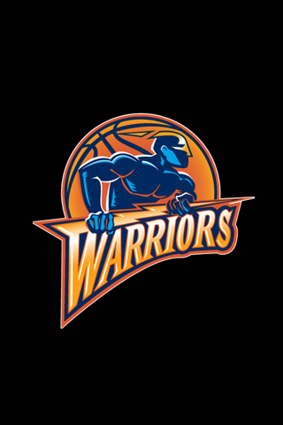 Golden State Warriors Black Logo iPhone Wallpaper