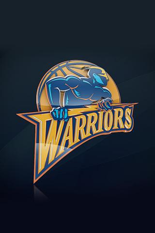 Golden State Warriors Logo iPhone Wallpaper