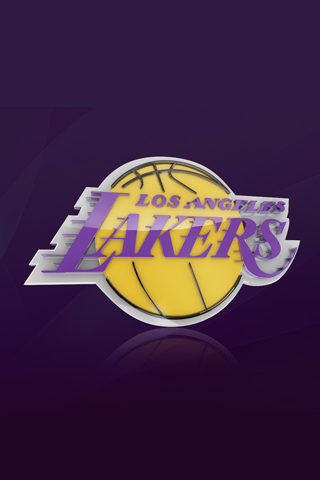 Los Angeles Lakers Logo iPhone Wallpaper