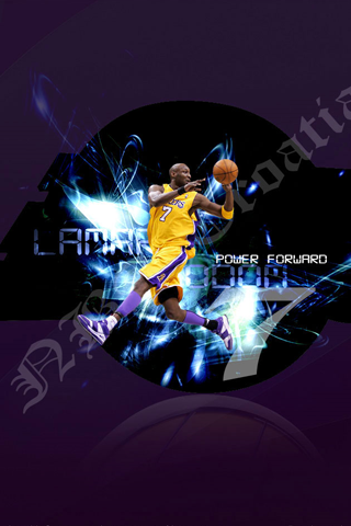 Los Angeles Lakers - Lamar Odom iPhone Wallpaper