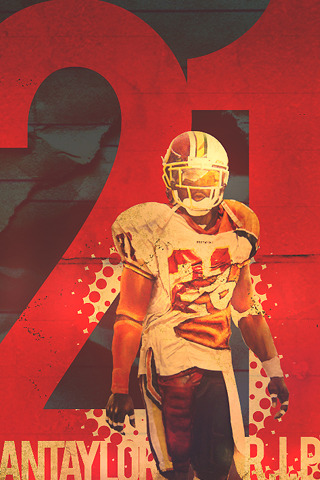 Washington Redskins - Sean Taylor iPhone Wallpaper