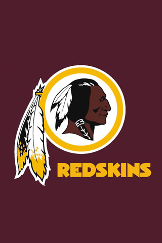 Washington Redskins Logo iPhone Wallpaper