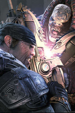 Gears Of War 2 Iphone Wallpaper Idesign Iphone