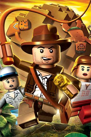 Indiana Jones Lego Video Game iPhone Wallpaper