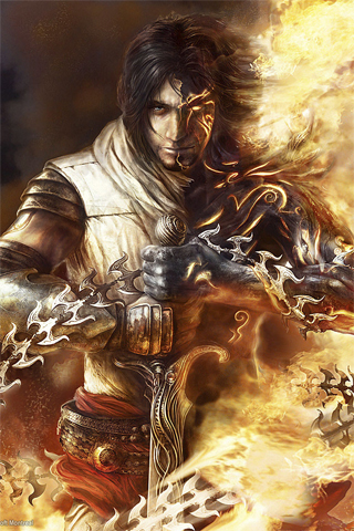 Prince of Persia Video Game iPhone Wallpaper