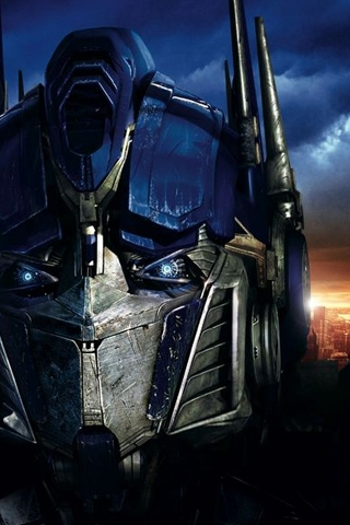 Transformers - Optimus Prime iPhone Wallpaper