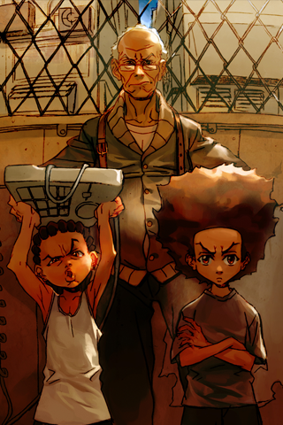 Boondocks - Tough Love iPhone Wallpaper