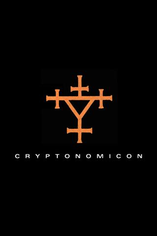 Cryptonomicon Logo by Neal Stephenson iPhone Wallpaper