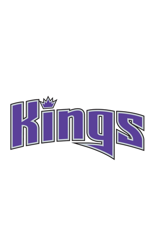 Sacramento Kings Script Logo iPhone Wallpaper