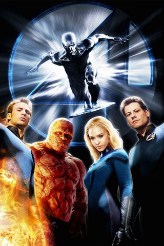 Fantastic Four The Movie iPhone Wallpaper