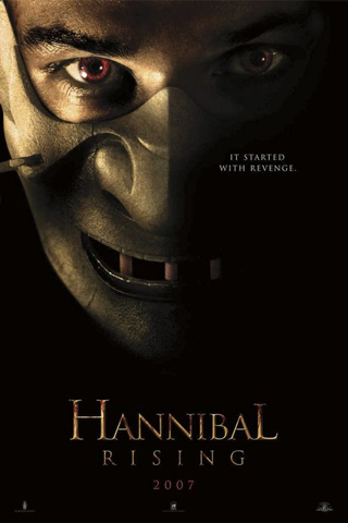 Hannibal Rising Movie Poster iPhone Wallpaper