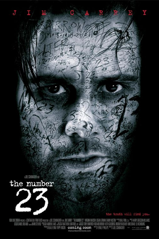 The Number 23 - Jim Carrey iPhone Wallpaper