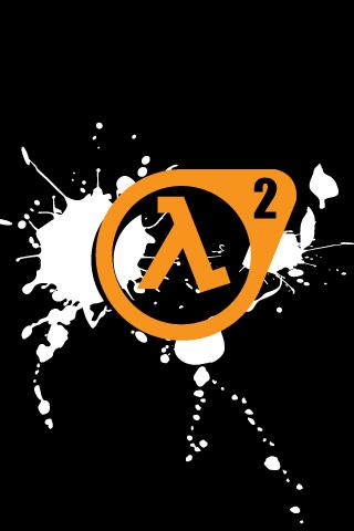 Half Life 2 Logo iPhone Wallpaper