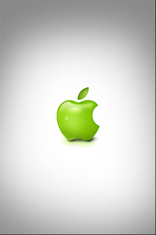 Real Macintosh Apple Logo iPhone Wallpaper