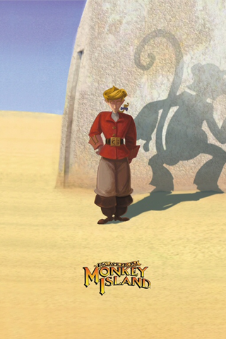 Escape From Monkey Island iPhone Wallpaper