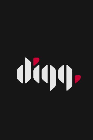 Alternate Digg Logo iPhone Wallpaper