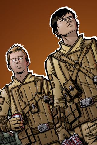 Diggnation - Kevin Rose & Alex Albrecht iPhone Wallpaper