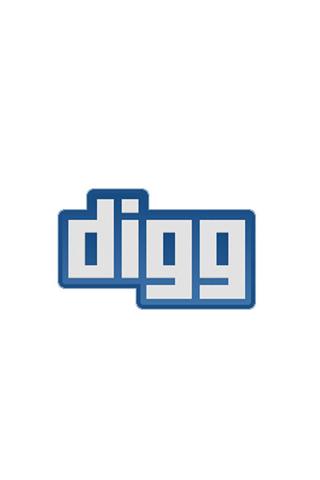 Classic Digg Logo iPhone Wallpaper