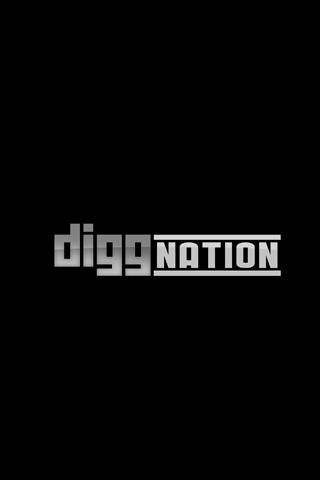 Diggnation Black Logo iPhone Wallpaper